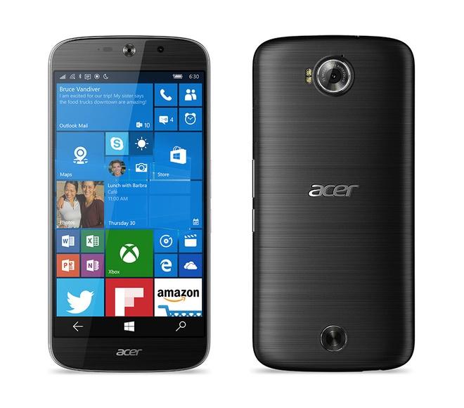 Acer ra mat smartphone Liquid Jade Primo chay Windows 10 hinh anh