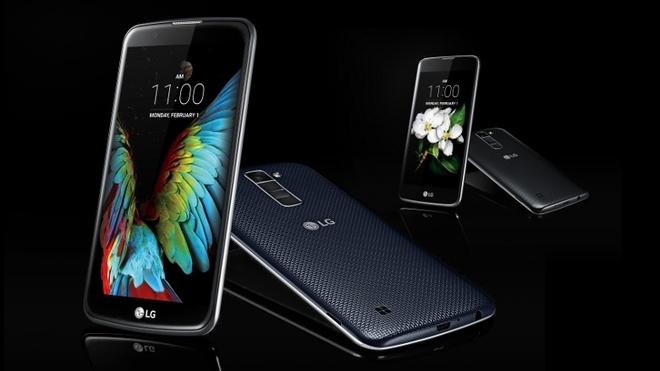 LG ra 2 smartphone tam trung K7 va K10 tai CES 2016 hinh anh