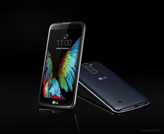 LG ra 2 smartphone tam trung K7 va K10 tai CES 2016 hinh anh 1