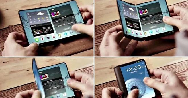 Samsung ra di dong man hinh gap cuoi nam nay hinh anh 1