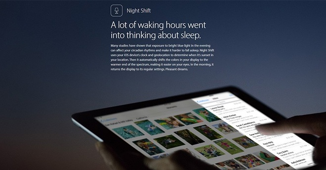 Apple ra iOS 9.3 beta, them tinh nang bao ve mat nguoi dung hinh anh 1