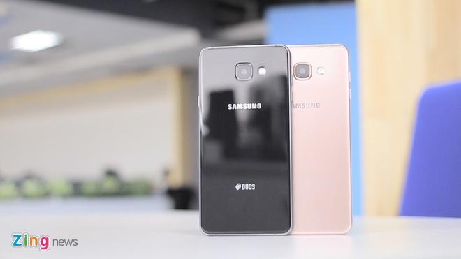 Danh gia Galaxy A7 2016 - smartphone thiet ke dep hinh anh 1