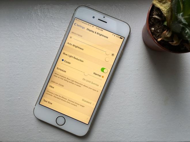 Loat thay doi tren iOS 9.3 hinh anh