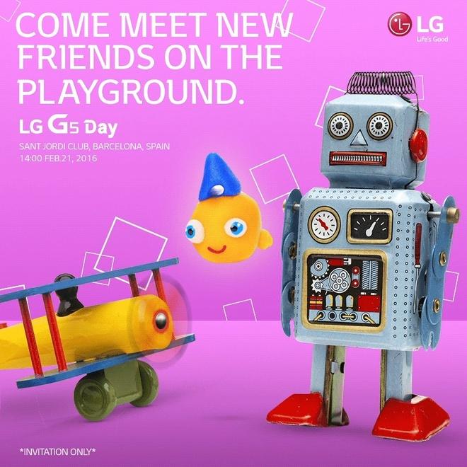 LG G5 ra mat ngay 21/2 hinh anh 1