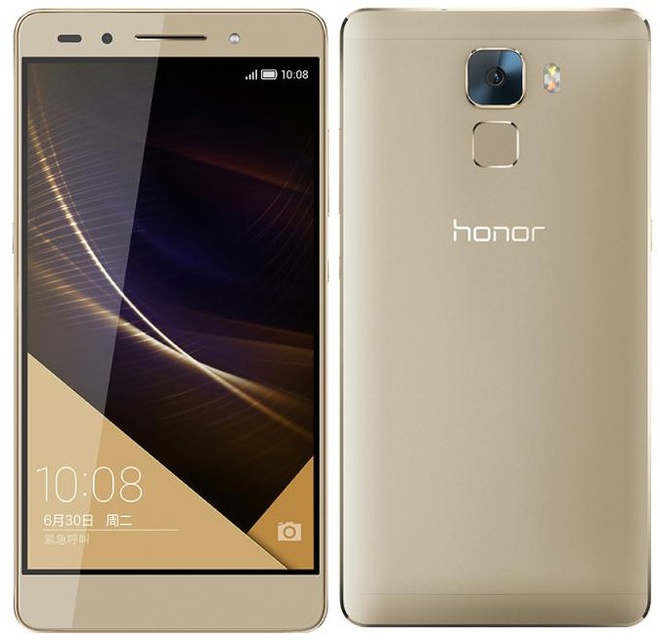 Huawei sap ra Honor 7 Premium co camera truoc 8 MP hinh anh
