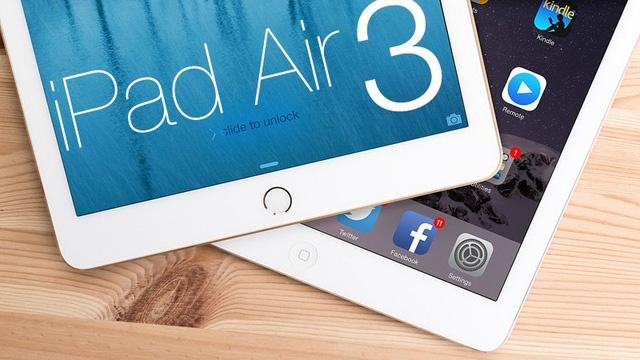 iPad Air 3 lo thiet ke, cau hinh nhu iPad Pro hinh anh