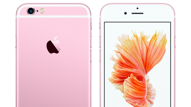 Loan tin don ve iPhone 5SE phien ban mau hong hinh anh 1