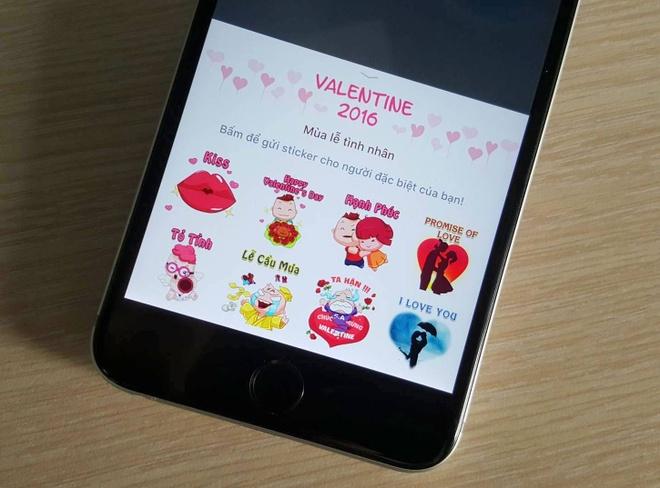 Facebook them hop qua, Zalo cau mua mua Valentine hinh anh 3