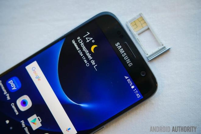 Samsung se luoc bo logo tren Galaxy S7? hinh anh