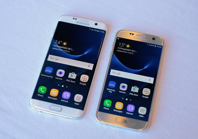 Danh gia nhanh Galaxy S7: De cam, camera chup nhanh hinh anh