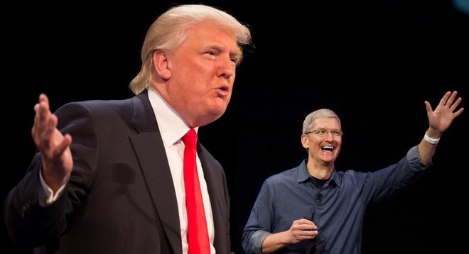 Apple tim cach ngan Donald Trump tranh cu tong thong hinh anh 1