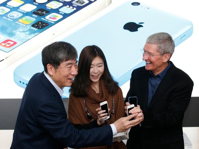 Apple bat dau gap kho tai Trung Quoc hinh anh 1