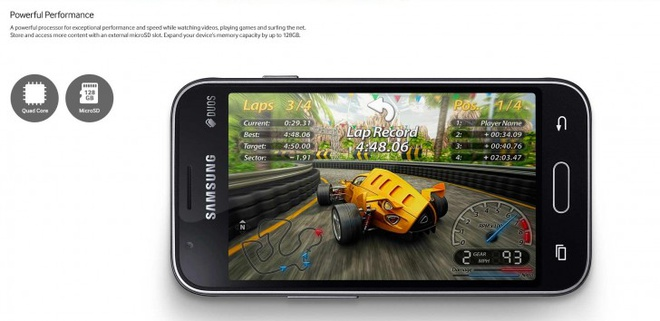 Samsung ra smartphone sieu re Galaxy J1 Mini hinh anh 3