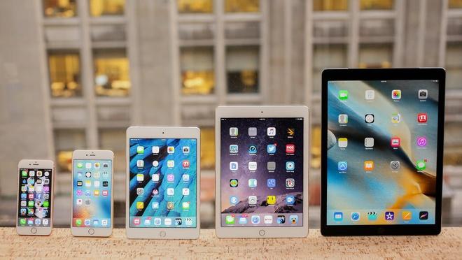 Nguoi dung iPhone, iPad khong thich man hinh lon hinh anh