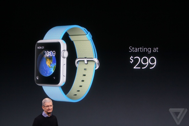 Apple Watch giam gia, them day deo moi hinh anh