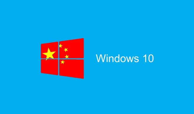 Microsoft tao ban Windows 10 rieng cho chinh phu Trung Quoc hinh anh