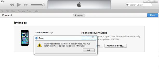 Huong dan cach ha cap iPhone tu iOS 9.3 xuong 9.2.1 hinh anh 5