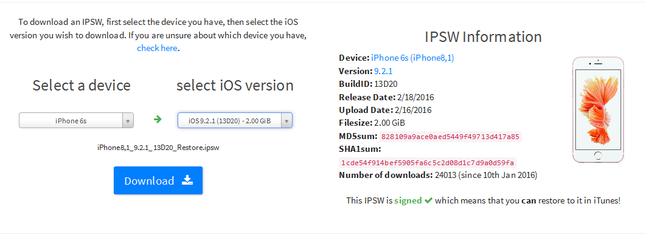 Huong dan cach ha cap iPhone tu iOS 9.3 xuong 9.2.1 hinh anh 6