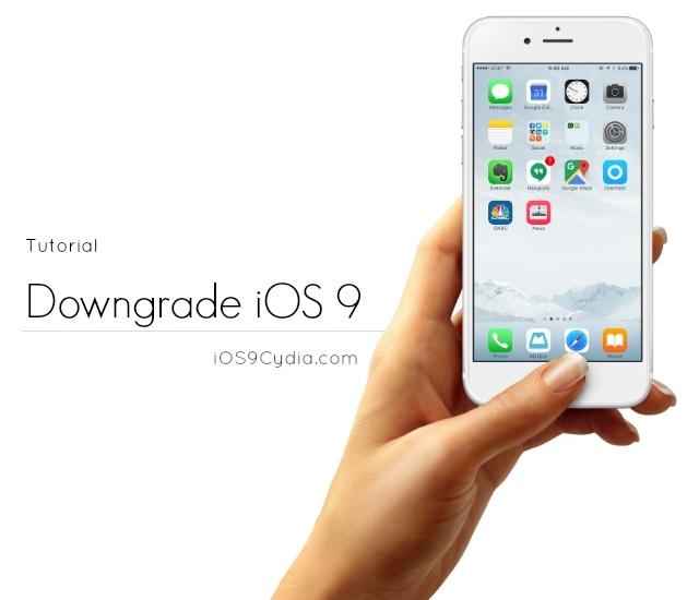 Huong dan cach ha cap iPhone tu iOS 9.3 xuong 9.2.1 hinh anh
