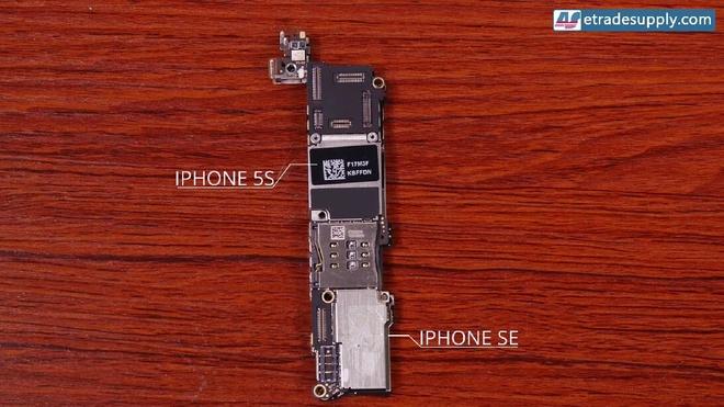 So ben trong iPhone SE va 5S hinh anh 6