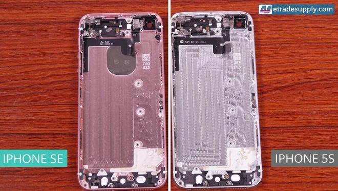 So ben trong iPhone SE va 5S hinh anh 7