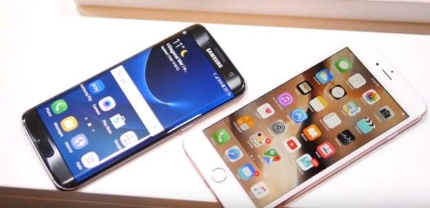 Moi so sanh iPhone va Galaxy S7 deu khap khieng hinh anh