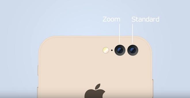 iPhone 7 dung camera kep hinh anh 1