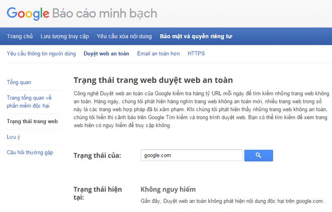 Google.com bi danh gia la trang web nguy hiem hinh anh 2