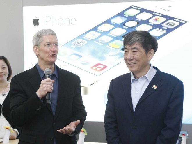Moi quan he cua Apple va Trung Quoc dang xuong doc hinh anh