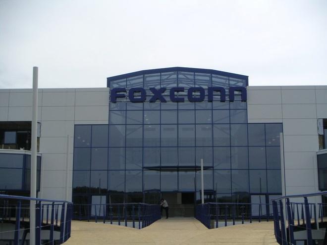Foxconn chuan bi mo nha may san xuat iPhone o An Do hinh anh