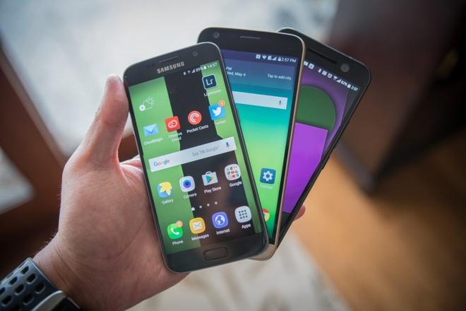 Galaxy S7 la 1 trong 5 smartphone ban chay quy I/2016 hinh anh 1