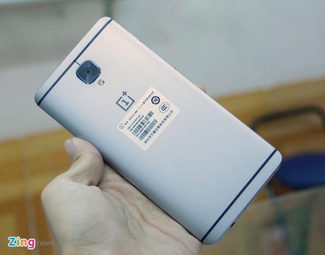 Mo hop OnePlus 3 RAM 6 GB gia 10,5 trieu o VN hinh anh 9