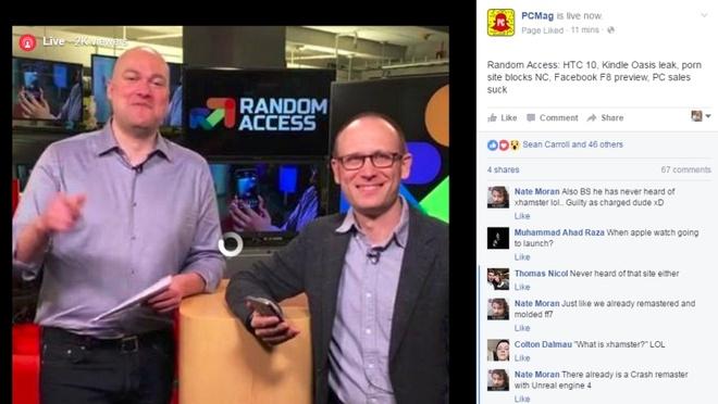 Facebook tra hang trieu USD cho cac doi tac Live Stream hinh anh