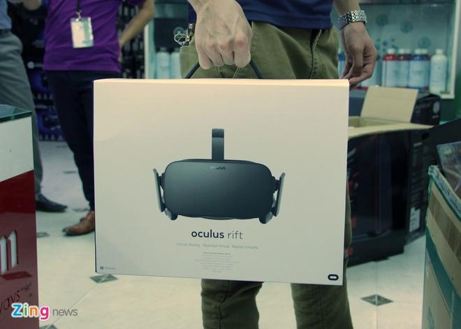 Mo hop kinh thuc te ao Oculus Rift gia 23 trieu dong tai VN hinh anh 1