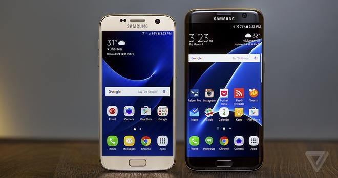 Samsung thang lon nho Galaxy S7 hinh anh