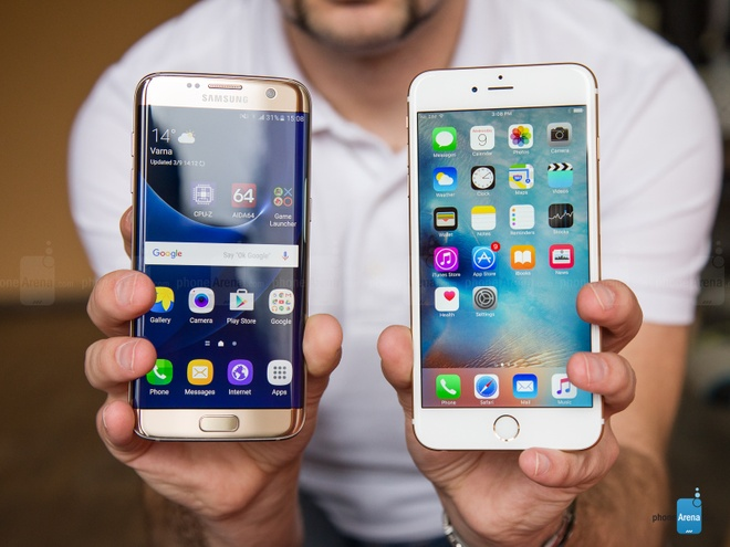 S7 edge, iPhone 6S Plus la smartphone ban chay nhat the gioi hinh anh