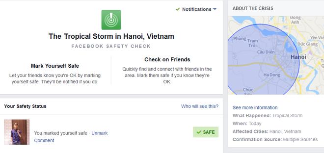 Facebook bat tinh nang an toan tai Viet Nam anh 1