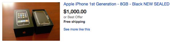 iPhone 2G duoc rao gia dat gap 10 lan iPhone 7 hinh anh 1