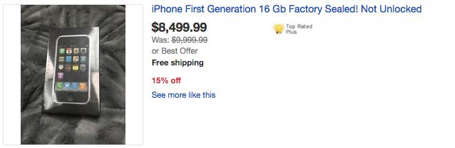 iPhone 2G duoc rao gia dat gap 10 lan iPhone 7 hinh anh 3