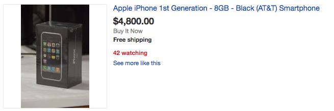 iPhone 2G duoc rao gia dat gap 10 lan iPhone 7 hinh anh 4