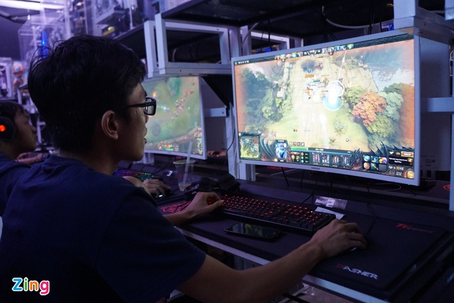 phong game khung nhat Sai Gon anh 7