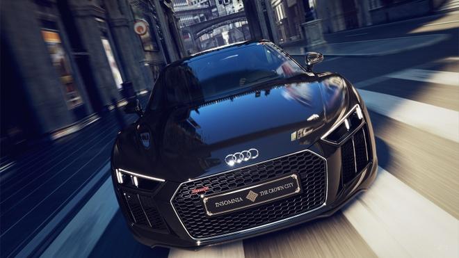 Audi R8 2017 phien ban Final Fantasy XV ra mat hinh anh