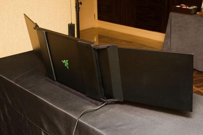 Laptop 3 man hinh 4K dau tien tai CES 2017 hinh anh 5