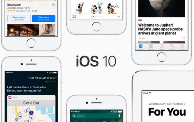 iOS 10 – mo hon don do Apple tao nen hinh anh