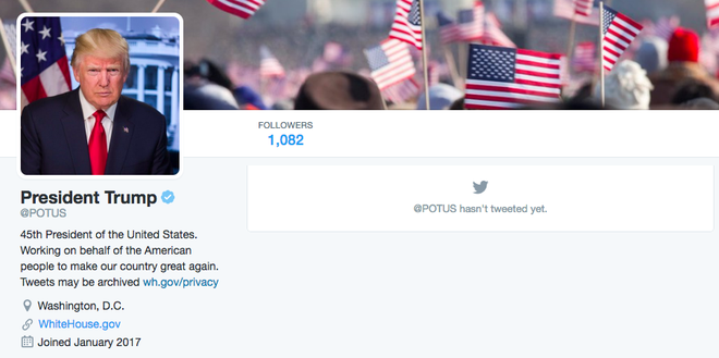 Twitter cua Donald Trump thay Obama hinh anh