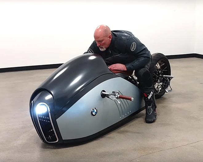 Moto BMW K75 Alpha tu y tuong den thuc te hinh anh 5