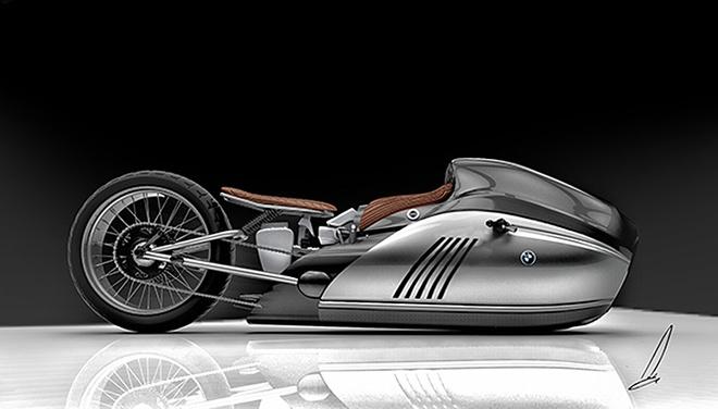 Moto BMW K75 Alpha tu y tuong den thuc te hinh anh 1