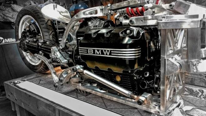 Moto BMW K75 Alpha tu y tuong den thuc te hinh anh 3