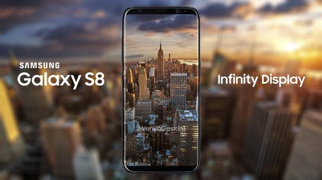 Thiet ke Galaxy S8 man hinh Infinity Dislay anh 1