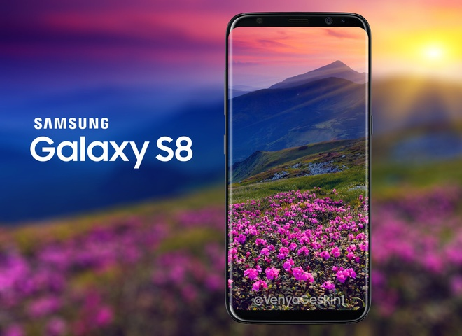 Thiet ke Galaxy S8 man hinh Infinity Dislay anh 2